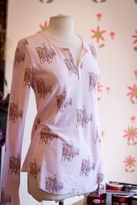 "All Things Fabulous ""horsey"" henley $89"